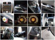 Intérieur de véhicule Image libre de droits