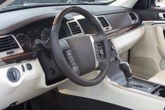 intérieur de véhicule photographie stock libre de droits