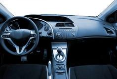 Intérieur de véhicule de sport Photos stock