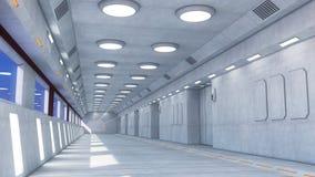 Couloir de vaisseau spatial illustrations 69 couloir de for Interieur vaisseau spatial