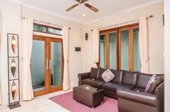 Intérieur de villa Images stock