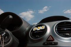 Intérieur de voiture Image libre de droits