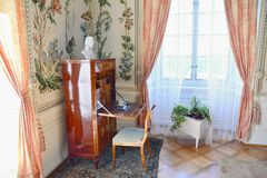 Intérieur de Vranov NAD Dyji photographie stock
