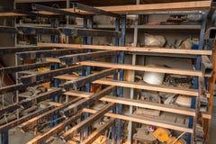 Intérieur de woodshop moderne photos stock