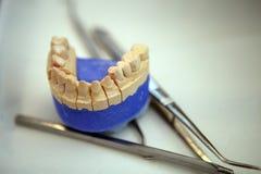 Intérieur dentaire de bureau Images stock