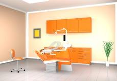 Intérieur dentaire moderne de bureau Photographie stock