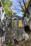 Intérieur des ruines Photographie stock libre de droits