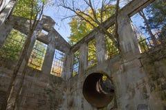 Intérieur des ruines Images stock