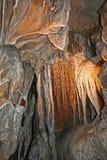 Intérieur deux de caverne Images libres de droits