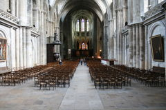 Intérieur du bâtiment à Toulouse, France Image libre de droits