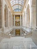 Intérieur du bâtiment de capitol de l'Arkansas Photo stock