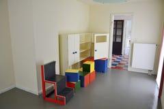 Intérieur du bâtiment de klaxon de Haus AM à Weimar Photos libres de droits