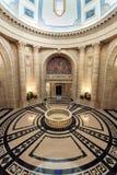 Intérieur du bâtiment législatif de Manitoba dans Winnipeg image stock