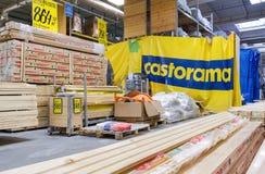 Intérieur du Castorama Samara Store Image stock