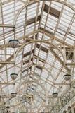 Intérieur du centre commercial de vert du ` s de St Stephen à Dublin CIT Photos libres de droits