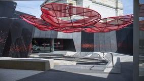 Intérieur du centre de visiteurs, tombeau de souvenir, Melbourne, Australie Photographie stock libre de droits