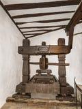 Intérieur du château de Marksburg photos libres de droits