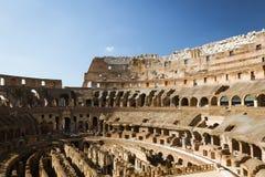 Intérieur du Colosseum Photos libres de droits