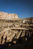 Intérieur du Colosseum Photo stock