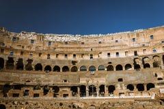 Intérieur du Colosseum Photo libre de droits