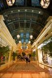 Intérieur du couloir de casino de Bellagio à Las Vegas Photos libres de droits