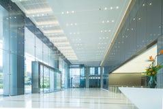 Intérieur du lobby du bureau photographie stock libre de droits