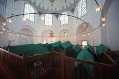 Intérieur du mausolée de Murad III Image libre de droits