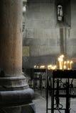 Intérieur du monastère Images libres de droits
