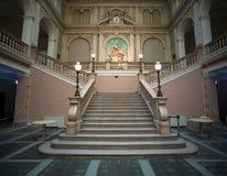 Intérieur du musée postal et télégraphique de l'Europe centrale, tri Photographie stock libre de droits