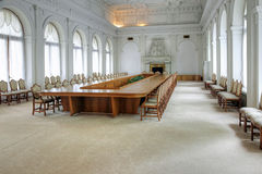 Intérieur du palais de Livadia Hall blanc Images libres de droits