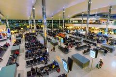 Intérieur du terminal deux de Heathrow Photos libres de droits