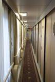 Intérieur du train de train Lhasa - Changhaï Photos stock