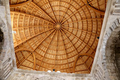 Intérieur du vieux palais d'Umayyad--- La capitale Amman de la Jordanie Photos stock