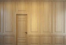 Intérieur en bois Images libres de droits