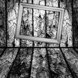 Intérieur en bois de cru Photos libres de droits