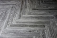 Intérieur en stratifié de vernis de plancher en bois dans la conception à la maison moderne Image libre de droits