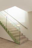 Intérieur, escalier de marbre Image libre de droits