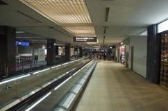 Intérieur et intérieur d'aéroport international de Narita Photos libres de droits