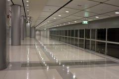 Intérieur futuriste d'aéroport de Canton Image libre de droits