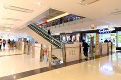 Intérieur Hong Kong de centre commercial K11 Image libre de droits