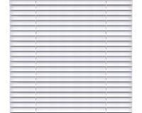 Intérieur horizontal argenté de décoration de fenêtre d'abat-jour Photos libres de droits