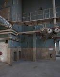 Intérieur industriel Photo libre de droits