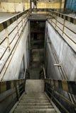 Intérieur industriel abandonné photographie stock libre de droits