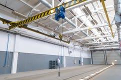 Intérieur industriel d'entrepôt photographie stock
