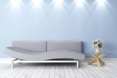 Intérieur lumineux moderne illustration stock