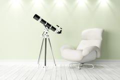 Intérieur lumineux moderne 3d rendent Photographie stock