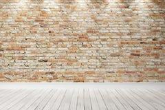 Intérieur lumineux vide 3d rendent Photo stock