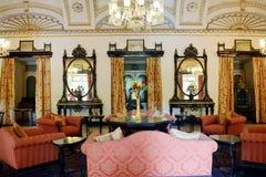 Intérieur luxueux de palais Image stock