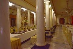 Intérieur luxueux de palais Images stock