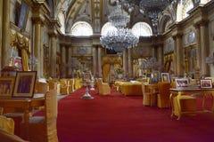 Intérieur luxueux de palais Photos stock